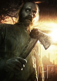 Capcom have released some new character art from their horror game Resident Evil 7 showing the villain Jack Baker.