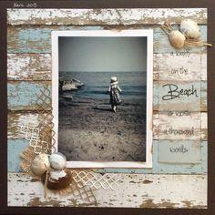 A walk on the beach is worth a thousand words