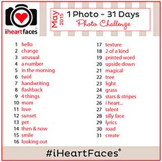 I Heart Faces {1 Photo} Monthly Challenge | May 2015 | Instagram, Facebook, Google+, Pinterest