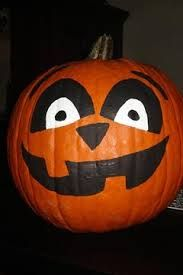 Image result for pumpkins painted