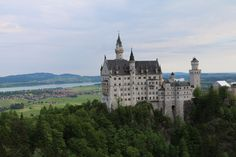 Castle, Germany, Castle, Neuschwanstein, Bavaria #castle, #germany, #castle, #neuschwanstein, #bavaria