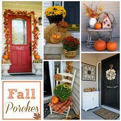 A Creative Princess: Fall Porch Inspiration