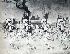 skeleton dance....  UB Iwerks!