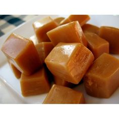 Star Anise, Saffron, Cardamom, Peach Caramels