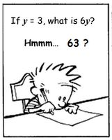 Explain why Calvin is wrong...I really like this! Jumpstart for lots of fun ways to teach math!