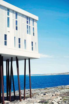 Fogo Island Inn, Newfoundland. #GoldStandard2015