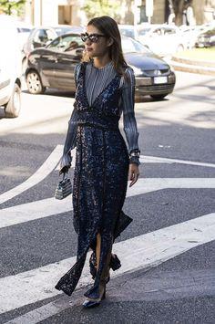 Inspirerande streetstyle från Milanos modevecka
