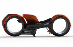 Designer Miguel Cotto's Harley Davidson concept looks like it came straight out of sci-fi. The futuristic concept is dated for 2020, and has an 883cc engine for power and the familiar roar of the Harley.