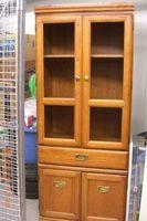 Oak Cabinet Hutch - Castanet Classifieds
