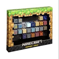 periodic table of elements minecraft goes well with Minecraft mini-figures! Minecraft Mini Figures, Minecraft Toys, Minecraft Creations, Minecraft Projects, Minecraft Crafts, Minecraft Designs, Minecraft Houses, Minecraft Decorations, Minecraft Stuff