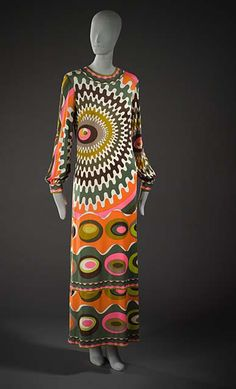 Dress Emilio Pucci, 1969 The Los Angeles County Museum of Art
