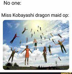 Everyone With Alzheimer Who forgot that gravity was invented - iFunny :) Courage The Cowardly Dog, Got Anime, Haha, Reddit Funny, Kobayashi San, Miss Kobayashi's Dragon Maid, Funny Memes, Hilarious, Spongebob Memes