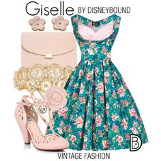 Disney Bound: Giselle from Disney's Enchanted (Vintage Inspiration Outfit)