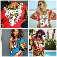 DIY Word Dashiki as seen on Beyonce, Zendaya, and Rihanna. Prices range from $50-85...DIY for under $35!