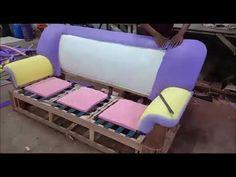 How to make sofa step by step Corner Sofa Design, Sofa Bed Design, Living Room Sofa Design, Bedroom Bed Design, Wooden Sofa Set Designs, Modern Sofa Designs, Diy Furniture Couch, Diy Sofa, How To Make Sofa