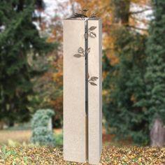 Stele Urnengrab besonders schöne Gestaltung - Rosano