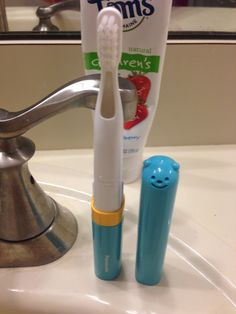 Outnumbered 3 to 1: Scare Cavities Away with the New Panasonic Kid's Toothbrush + Giveaway