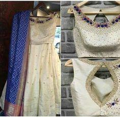 Lehenga, Sarees, Anarkali, Half Saree, Indian Wear, Indian Outfits, I Dress, Blouse Designs, Dressing