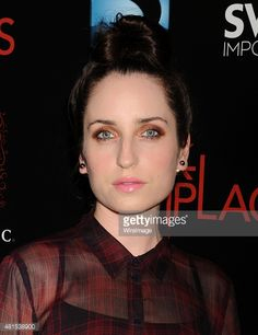 Actress Zoe Lister Jones arrives at the Premiere Of DIRECTV's 'Dark Places' at Harmony Gold Theatre on July 21, 2015 in Los Angeles, California.