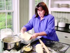 Try Ina Garten's Chicken Pot Pie recipe for comforting, veggie-filled pastry bowls, from Food Network's Barefoot Contessa. Pie Recipes, Chicken Recipes, Dinner Recipes, Cooking Recipes, Ina Garten Chicken, Best Ina Garten Recipes, Barefoot Contessa, Dinner Is Served, Food Network Recipes