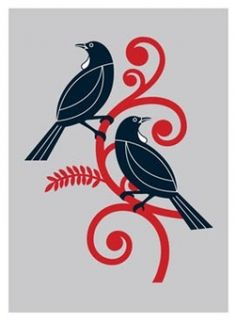 Check out the deal on Two tui - ecru limited edition screenprint by Greg Straight at New Zealand Fine Prints Hawaiian Tribal Tattoos, Samoan Tribal, Filipino Tribal, Tui Bird, Sculpture Art, Ice Sculptures, Abstract Sculpture, Bronze Sculpture, Maori Patterns