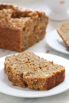 Liv Life: Molasses Oatmeal Banana Bread - Vegan Recipe