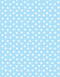 Baby blue with white stars paper. Printable image for scrapbooking, wrapping… Digital Scrapbook Paper, Baby Scrapbook, Paper Background, Background Patterns, Baby Blue Background, Watercolor Card, Tarjetas Diy, Scrapbook Patterns, Baby Images