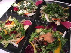 表参道、南青山ジンジャーガーデンのサラダランチ。野菜が多すぎて顎が疲れた〜