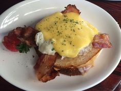 Ten best brunches in Denver. An open-faced truffle grilled cheese, made brunch-errific with eggs and bacon.