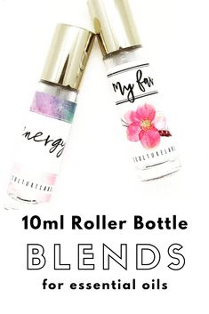 Over 50 blends to use for creating your own essential oil roller bottles. Essential Oil Diffuser Blends, Organic Essential Oils, Essential Oil Uses, Young Living Essential Oils, Essential Oil Bottles, Essential Oil Perfume, Roller Bottle Recipes, Doterra Essential Oils, Green Cleaning