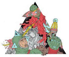 Super Sci fi by Daniel Chastinet, Fortaleza, Brazil   Digital Art   Drawing    Illustration  