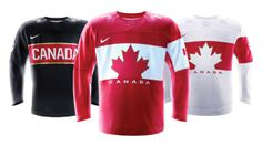Hockey Canada and Nike unveil Team Canada jersey for 2014 Olympic and Paralympic Winter Games Olympic Hockey, Olympic Team, Olympic Games, Montreal Canadiens, Hockey Sweater, Winter Olympics 2014, Usa Olympics, Canada Hockey, Sports Uniforms