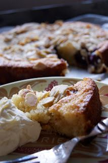 Buttermilk Cake - shown with cherries, but it looks like you could ...