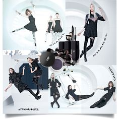 """""""CHANEL F/W '13/14 Ad-Campaign"""" by andreajanke on Polyvore #Chanel #Fashion #Lancome #Beauty #PolyVore"""