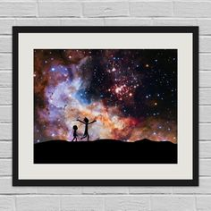 Rick and Morty in Space Hubble/Rick and Morty by BeCreativeMedia