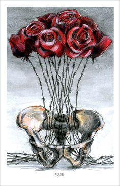 """vase"" by Derek Hess"