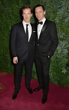 Tom Hiddleston and Benedict Cumberbatch the 60th London Evening Standard Theatre Awards at the London Palladium on November 30, 2014. Source: http://torrilla.tumblr.com/post/104002554650/tom-hiddleston-at-the-60th-london-evening-standard