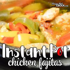 Are you looking for good Instant Pot Recipes? We love these Instant Pot Chicken Fajitas and make them ALL the time in our electric pressure cooker! Note: We use referral links to products we love. Cris here. As I mentioned the other day we have been work Pressure Cooker Chicken, Instant Pot Pressure Cooker, Pressure Cooker Recipes, Pressure Cooking, Slow Cooker, Rice Cooker, Chicken Fajita Recipe, Chicken Fajitas, Chicken Recipes