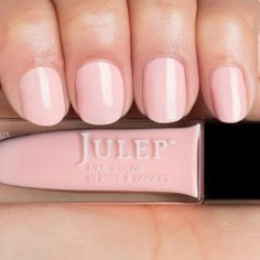 Jules - Warm Powder Pink Crème.  Get your first box free!  ($45 value) http://www.julep.com/rewardsref/index/refer/id/313807/