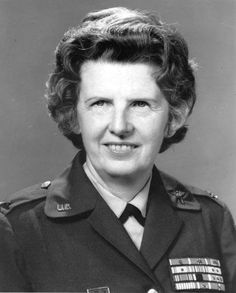 A survivor of 2 wars, a prison camp, and near starvation, Colonel Ruby Bradley, (19 Dec 1907 – 28 May 2002), was one of the most decorated women in U.S. military history. Entered the United States Army Nurse Corps as a surgical nurse in 1934. Also served in the Korean War as Chief Nurse for the 171st Evacuation Hospital. In 1951, she was named Chief Nurse for Eighth Army, where she supervised > 500 Army nurses throughout Korea. Promoted to Colonel in 1958; retired from the Army in 1963. HOOAH!