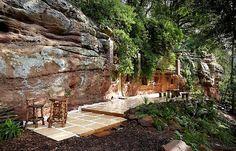 Grotte aménagée ©Dailymail