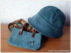 Tuto et patron pour chapeau cloche                                                                                                                                                     Plus