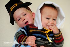 Make your own pilgrim hats with this tutorial. so cute! perfect for thanksgiving.