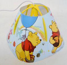 Disney Winnie Children's Pendant Ceiling Light Fitting with Lamp Shade: Amazon.co.uk: Lighting