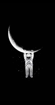 astronaut Wallpaper by - 52 - Free on ZEDGE™ Space Phone Wallpaper, Galaxy Wallpaper Iphone, Ps Wallpaper, Tumblr Wallpaper, Space Artwork, Space Drawings, Dark Art Drawings, Astronaut Wallpaper, Astronaut Illustration