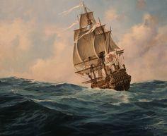 Fragata Española 1700. Más en www.elgrancapitan.org/foro