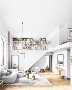 Minimal Interior Design Inspiration Loft Apartmentsmodern