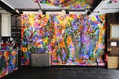 Would love to see duo Francesco Rugi und Silvia Quintanilla, a.k.a. Carnovsky's amazing RGB mural in London. Alas...