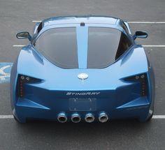 131627d0e2f Transformer s Corvette Stingray Concept Replica from Custom Hell