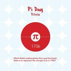 #PiDay trivia